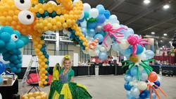 30 foot balloon arch
