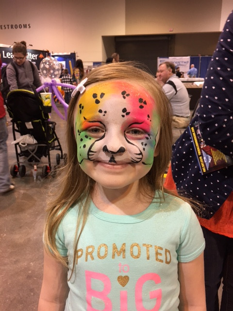 Face Painting in Omaha with The Balloon Brigade