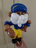 Balloon Art Football Player