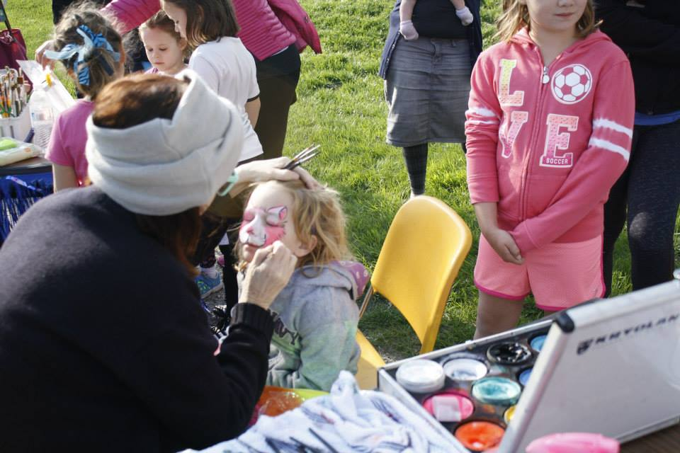 Face painting by Terri