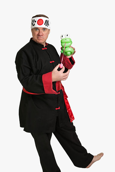 Balloon Master Greg & His Frog
