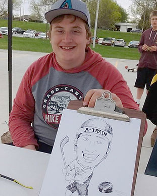 Caricature Artwork at UNO