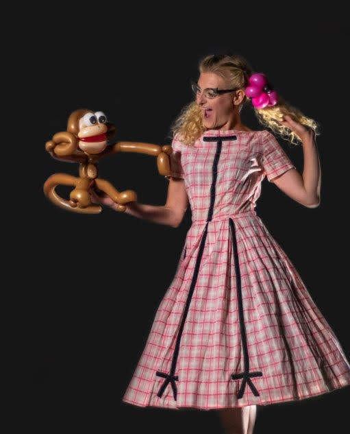 Poppin' Penelope with Balloon Monkey.jpg