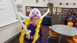 balloon viking queen