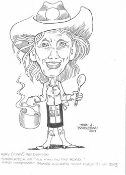 Country Cooking Caricature