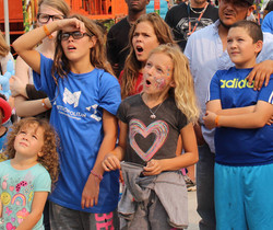 Audience reactions to magic show in Lincoln Nebraska