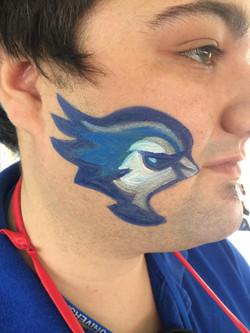 Creighton University Face Painter