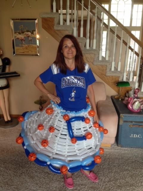 Creighton University Balloon Skirt by Terri