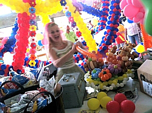 Lincoln Nebraska Balloon Decor