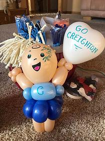 Balloon Cheerleader