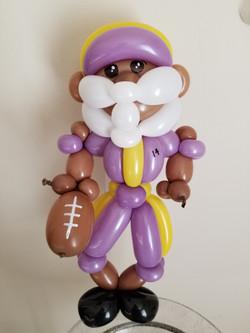 Minnesota Vikings Balloon Creation