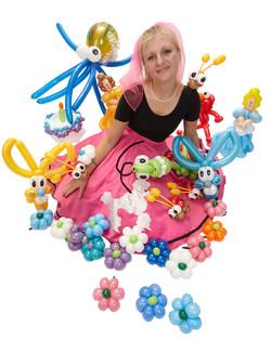 Omaha Balloon Artist Poppin' Penelope
