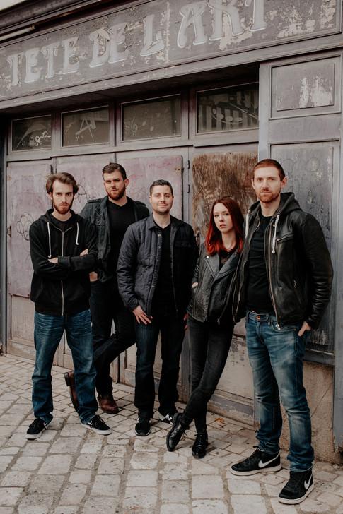 Séance photo Pressbook Musiciens
