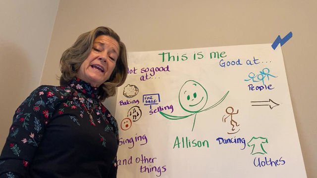This is Me - Allison - I'm Good at Creating PATHS