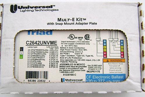 UNIVERSAL TRIAD C2642UNVME  Electronic Compact Fluorescent CFL Multi Ballast KIT