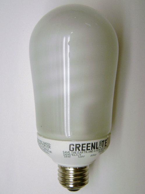 Greenlite 24W Bright White 5000K Med Base CFL Bulb 100W Equal Light Bulb