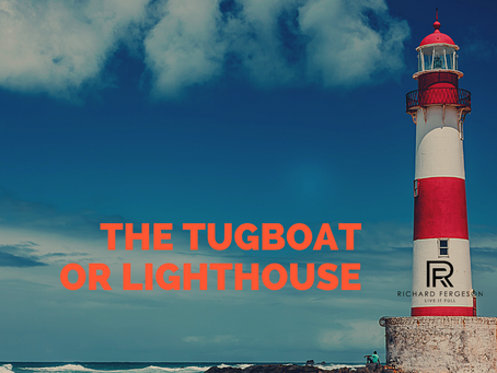 Tugboat or the Lighthouse