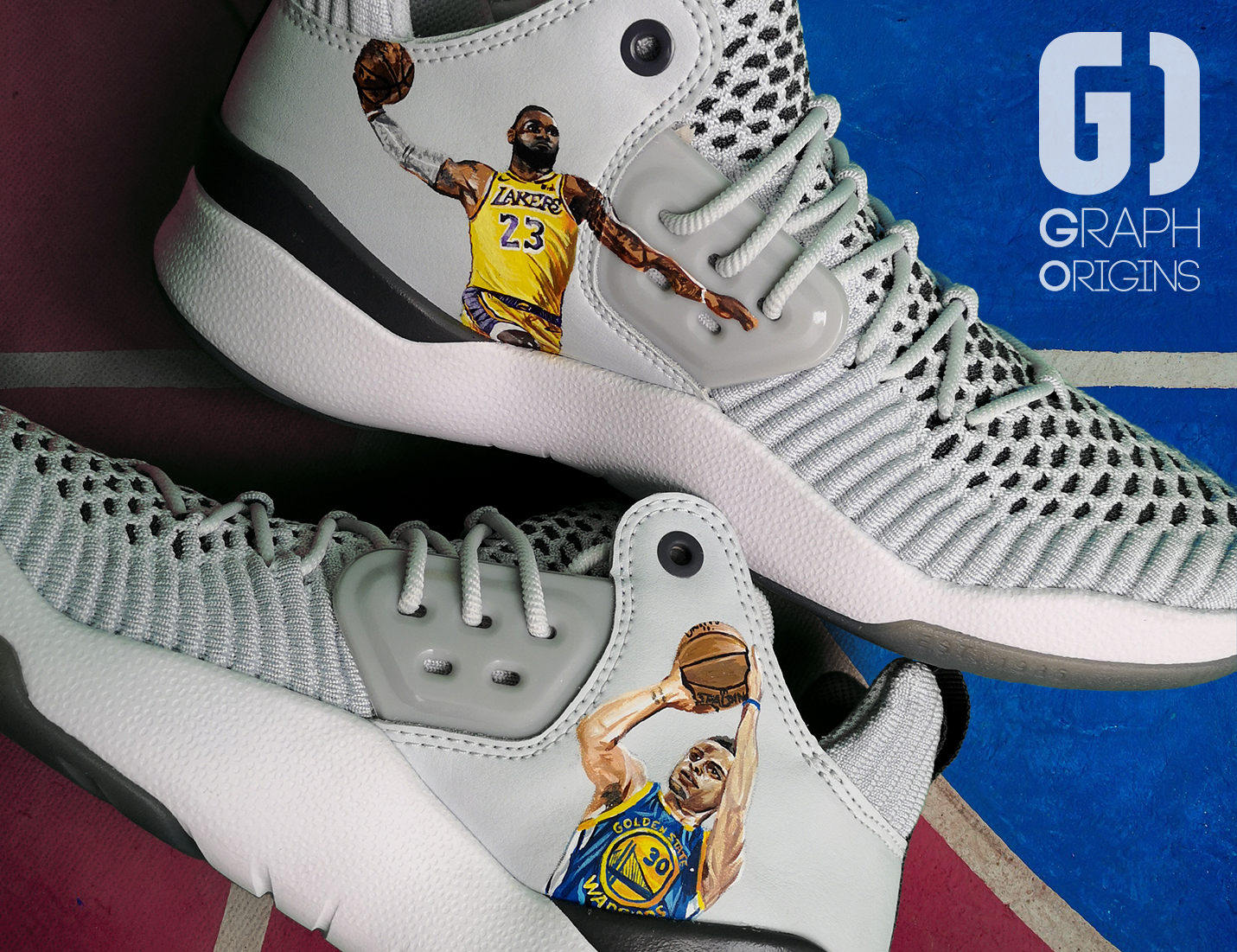 Custom Jordans Curry James 3