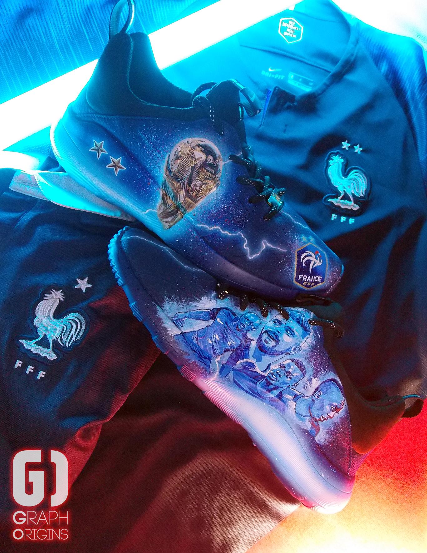 Custom Nike Kaishi FFF 9