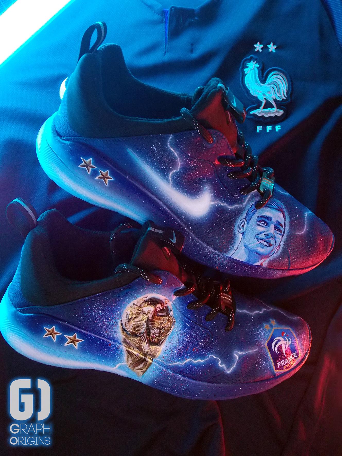 Custom Nike Kaishi FFF 7