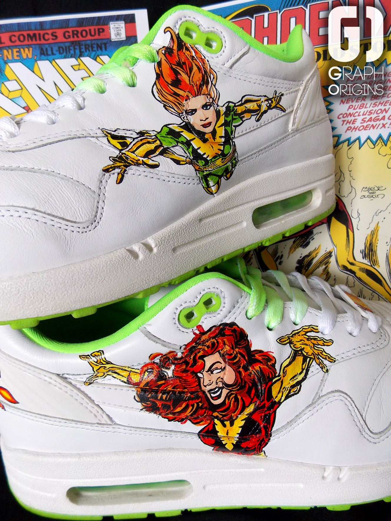 Custom Nike Air Force 1 Phoenix 3