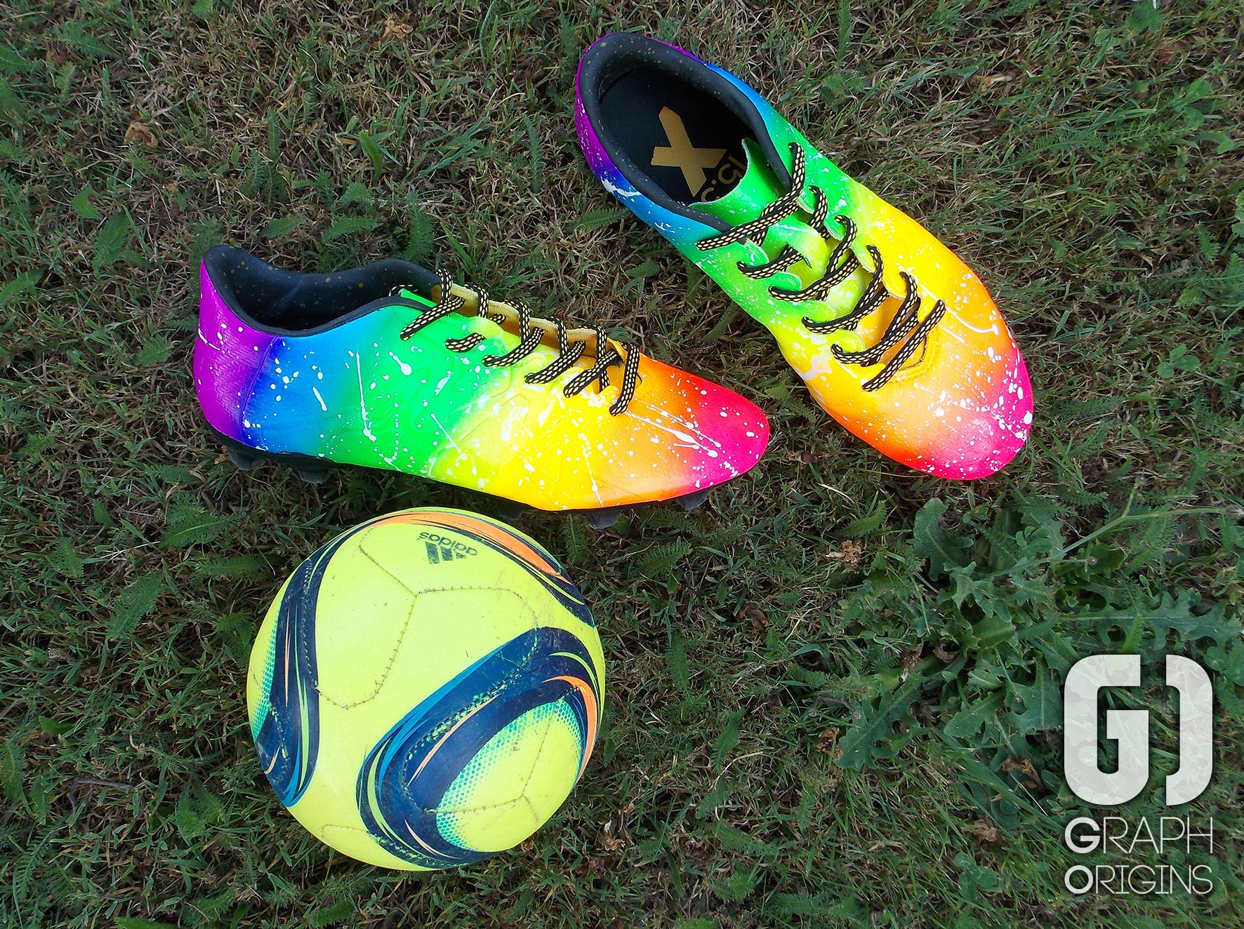 Crampons foot Adidas Rainbow 1