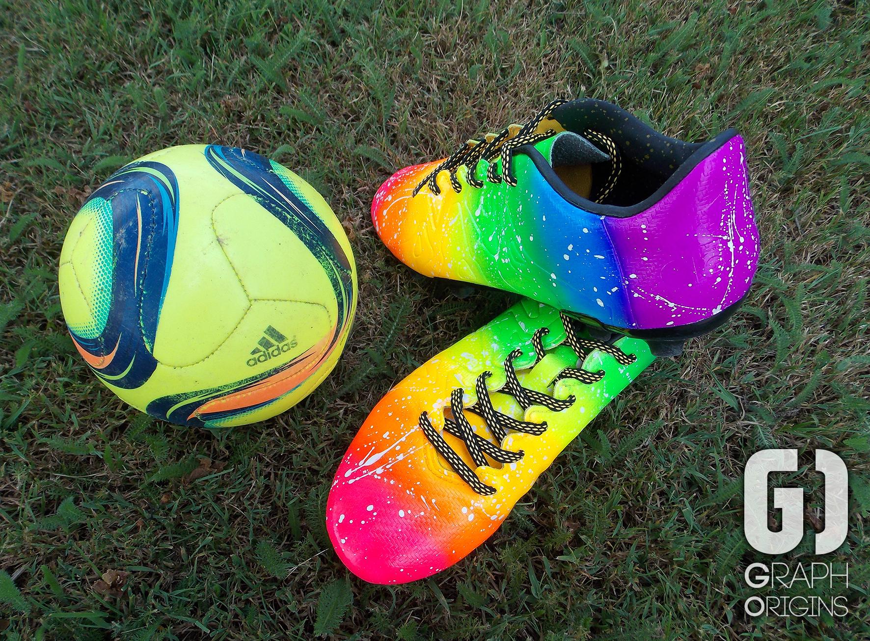 Crampons foot Adidas Rainbow 3