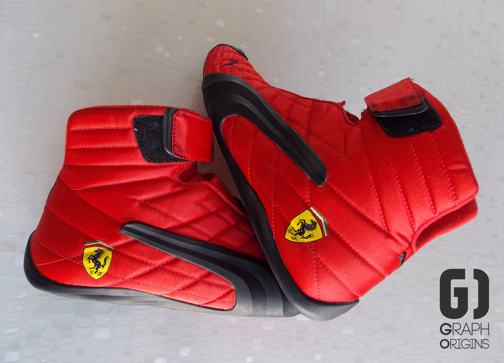 Custom Ferrari chaussures de courses Pum