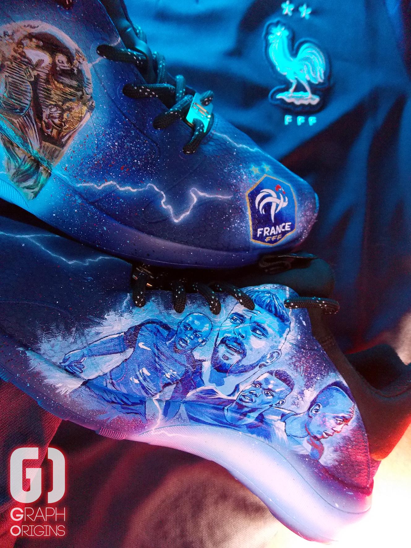 Custom Nike Kaishi FFF 4