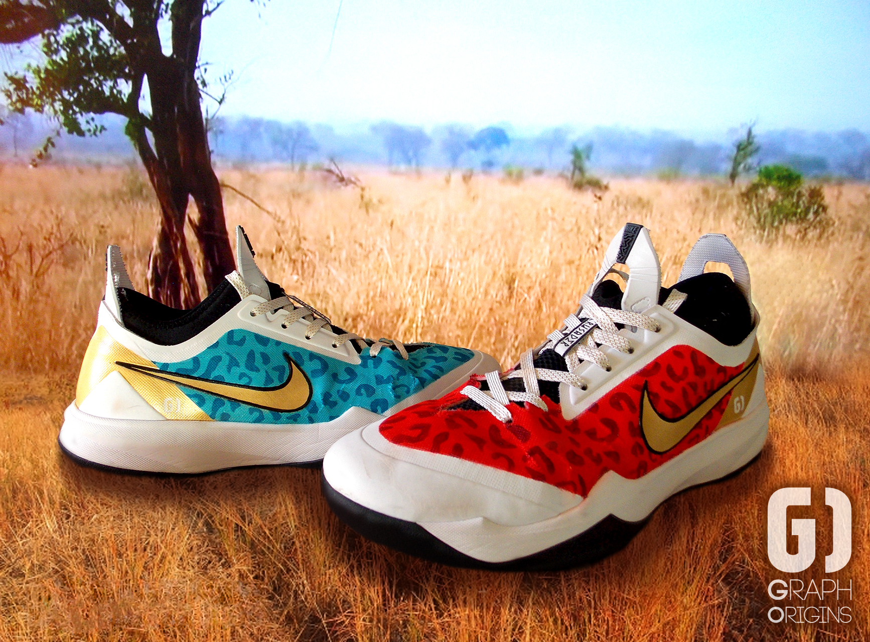 Custom Nike Zoom Holston 1