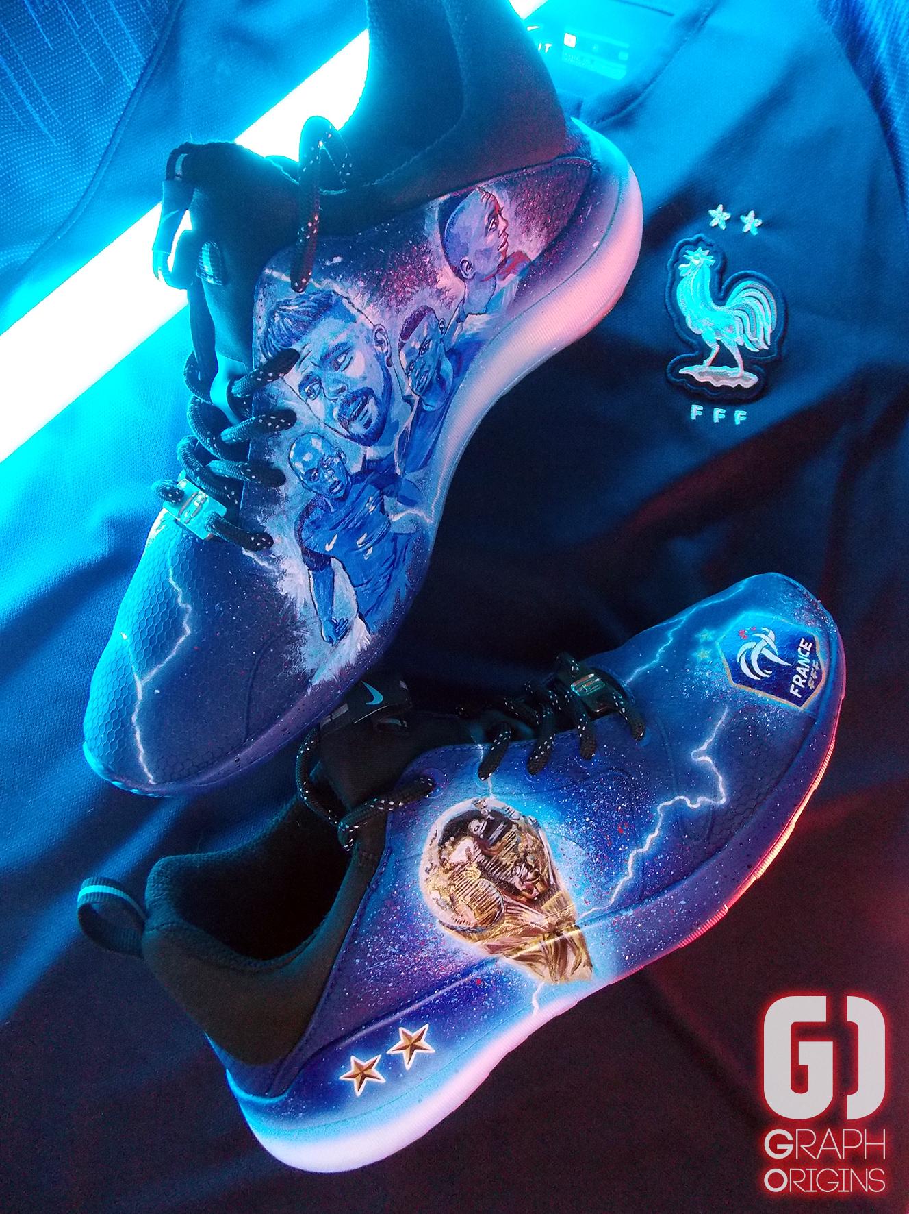 Custom Nike Kaishi FFF 6