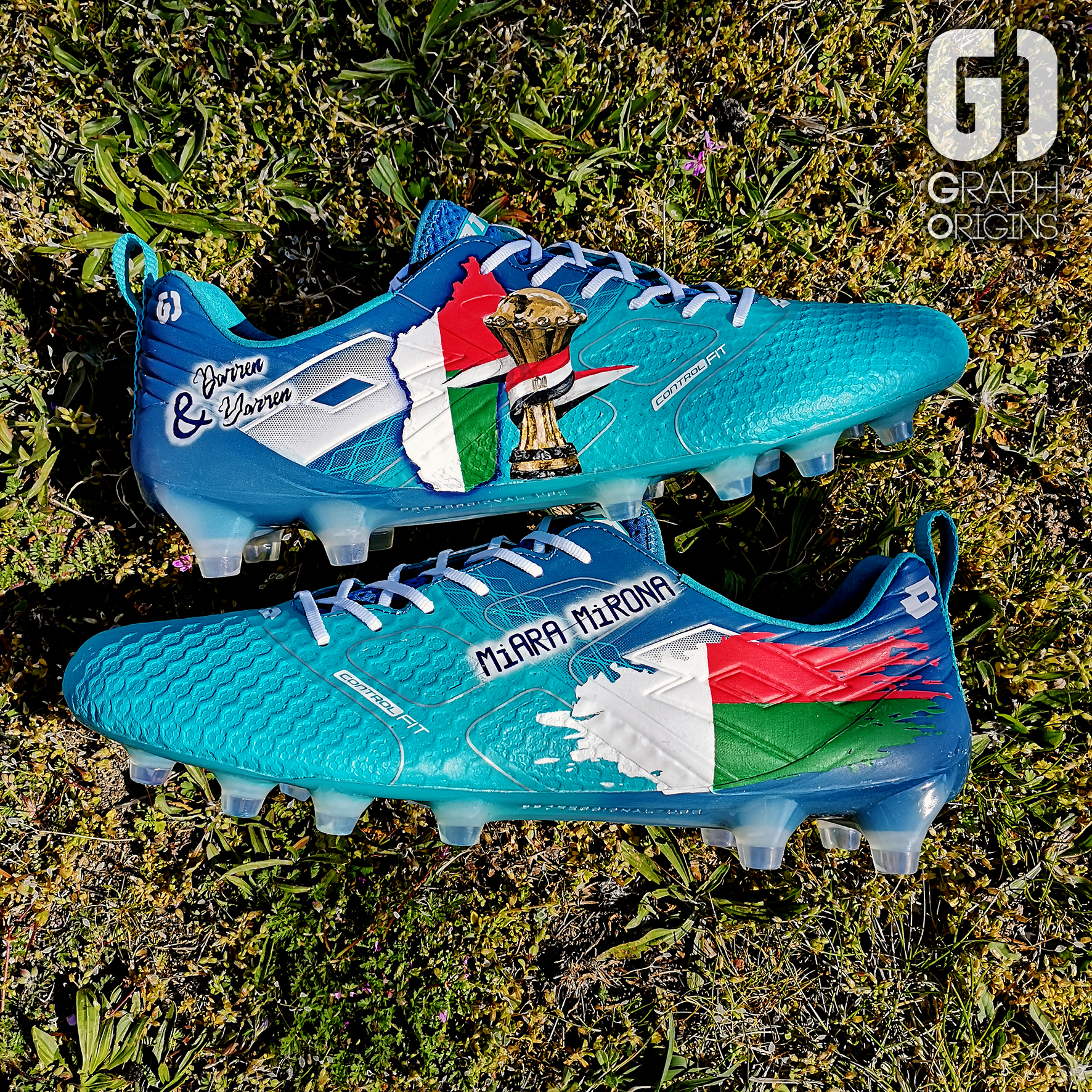 custom cleats CAN faneva andriatsima 3