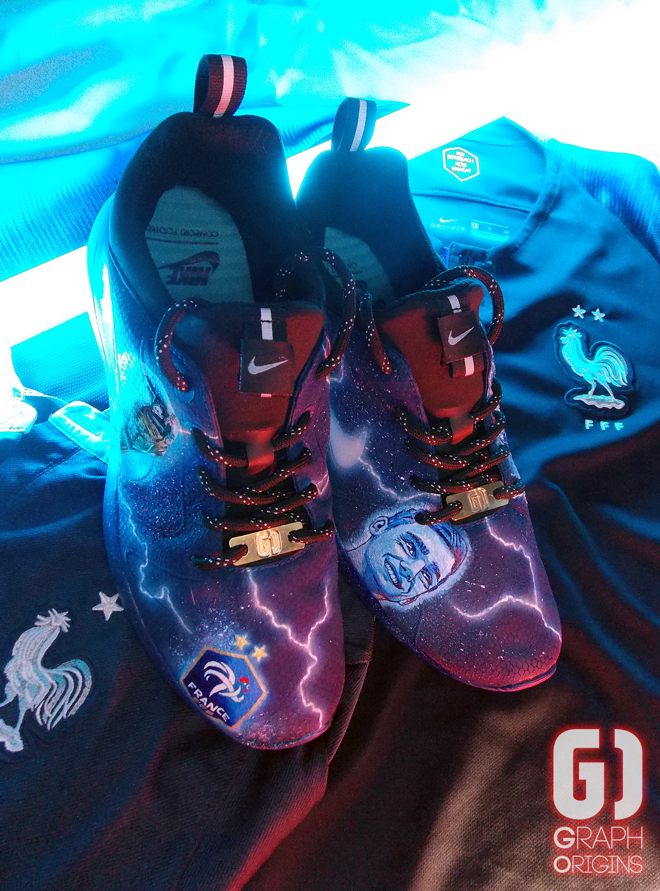 Custom Nike Kaishi FFF