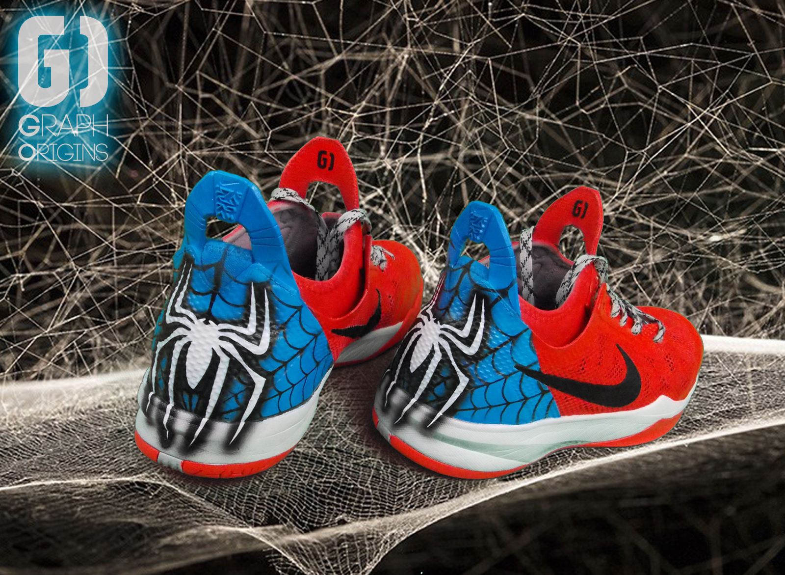 Custom Spiderman David HOLSTON Leaders c