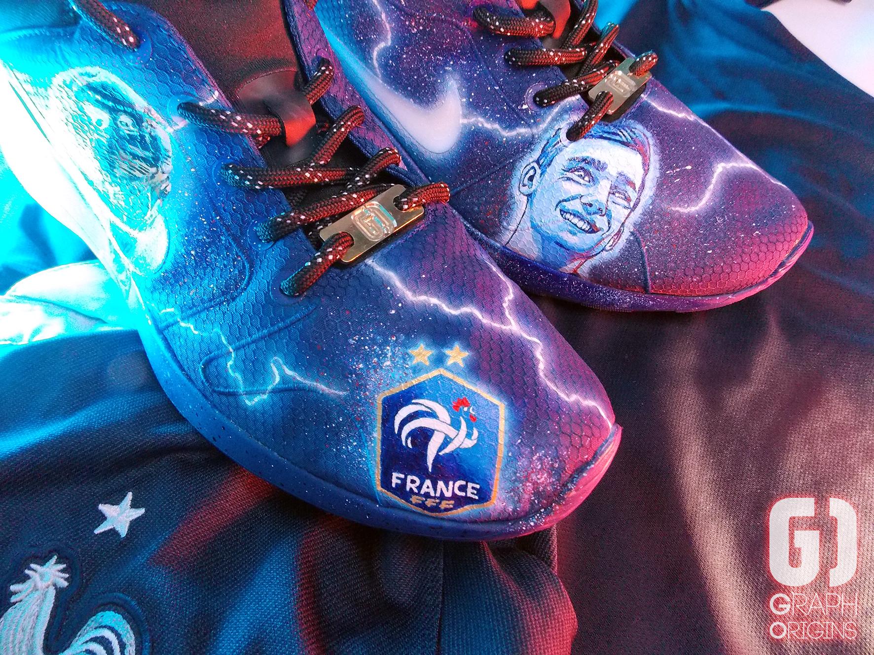 Custom Nike Kaishi FFF 2