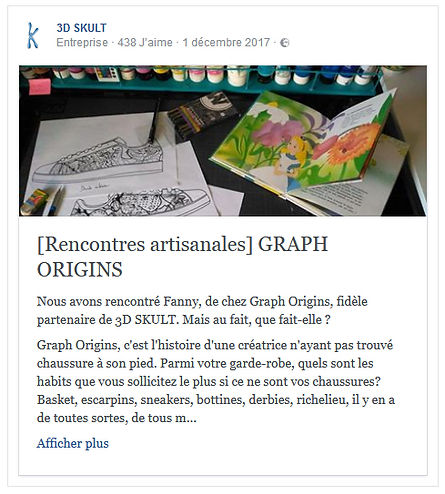 Rencontres Artisanales - Graph Origins par 3D Skult