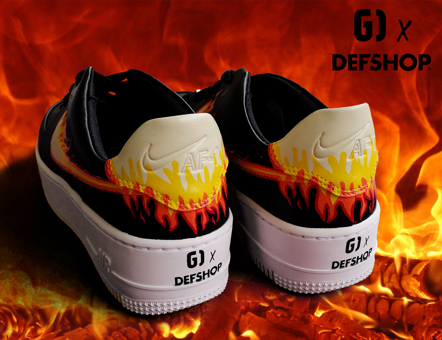 Collab DEFSHOP x Graph Origins Fire cust