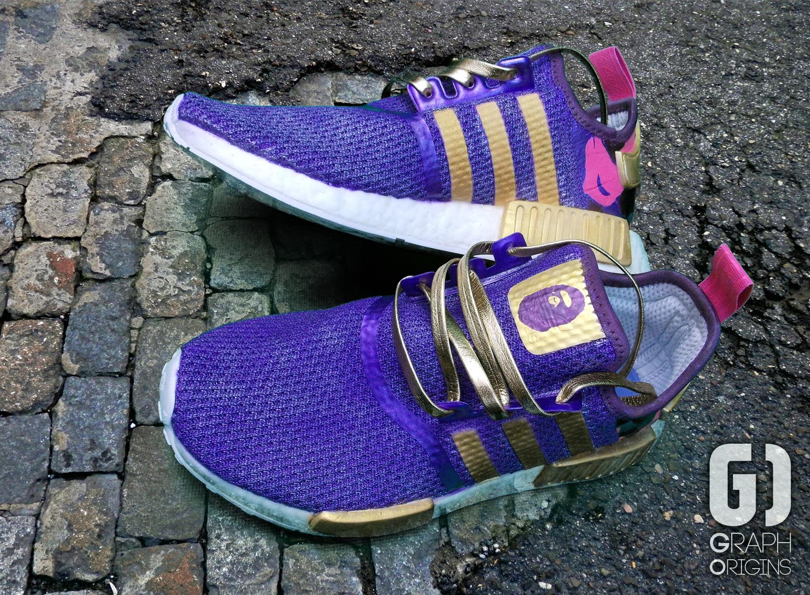 Custom Bape Adidas