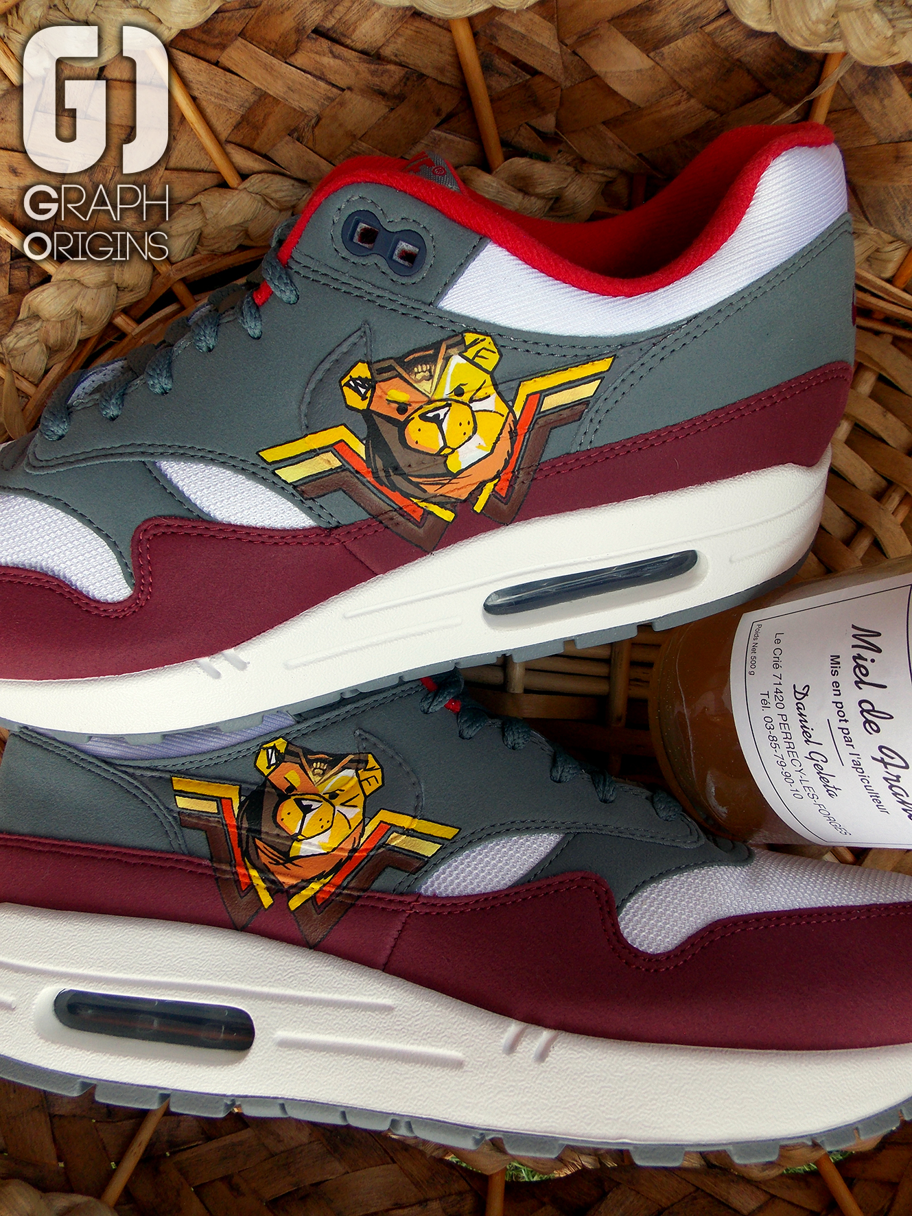 Custom Air Max 1 Robust 4