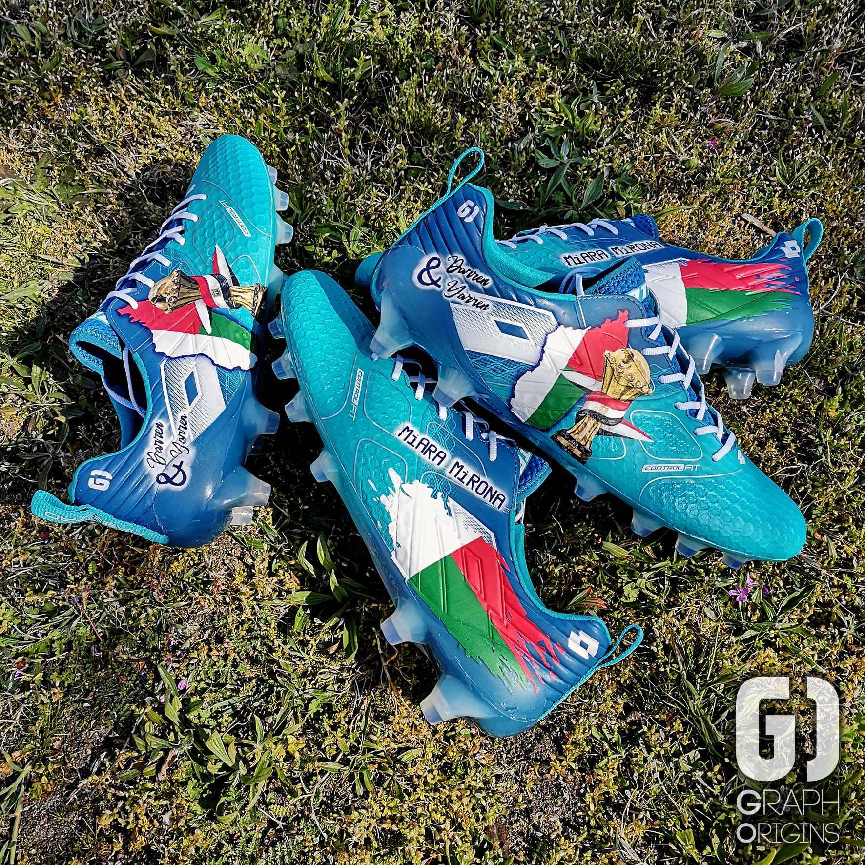 custom cleats CAN faneva andriatsima 2