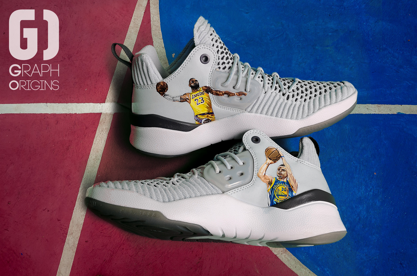Custom Jordans Curry James