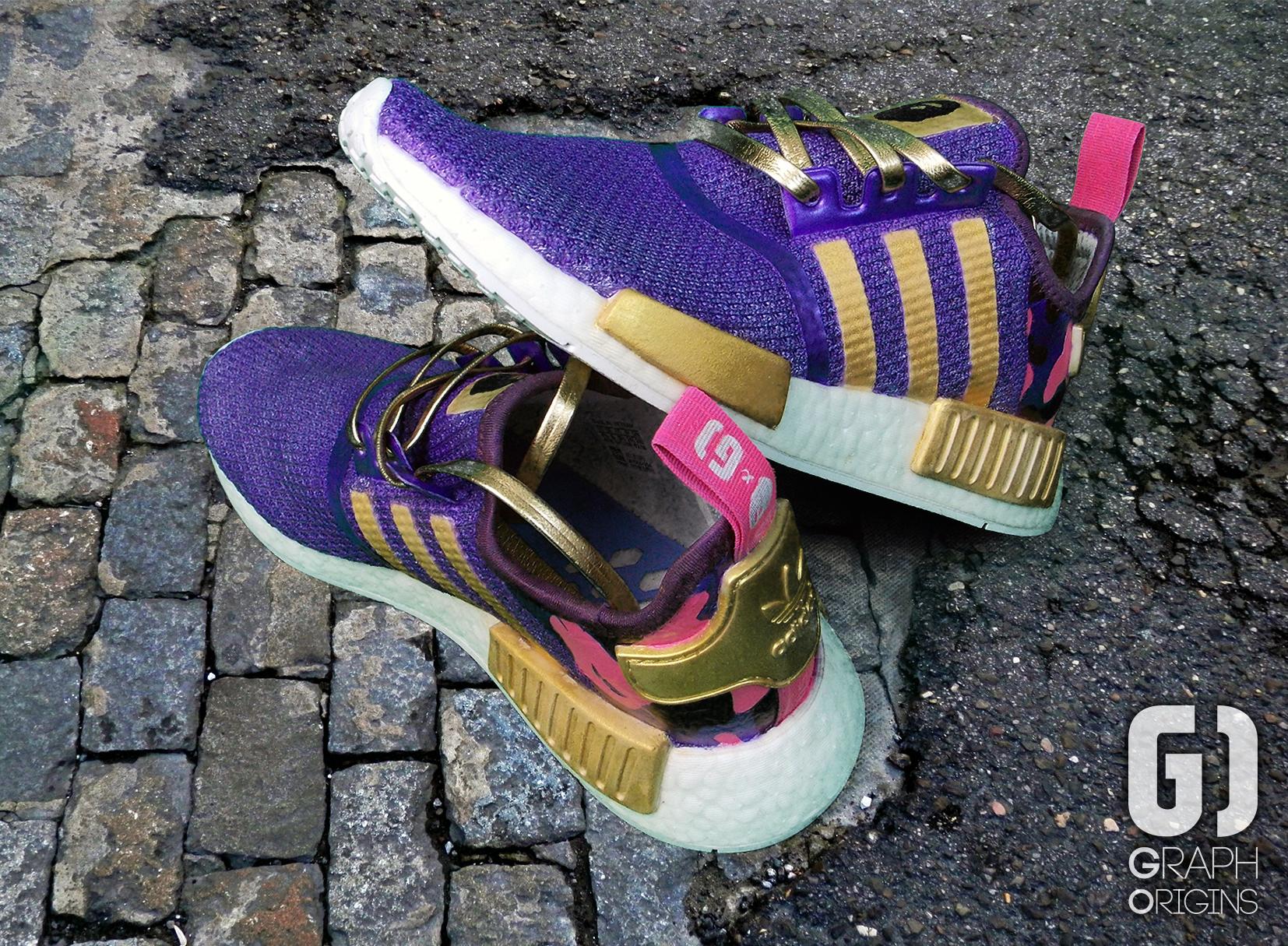 Custom Bape Adidas 2