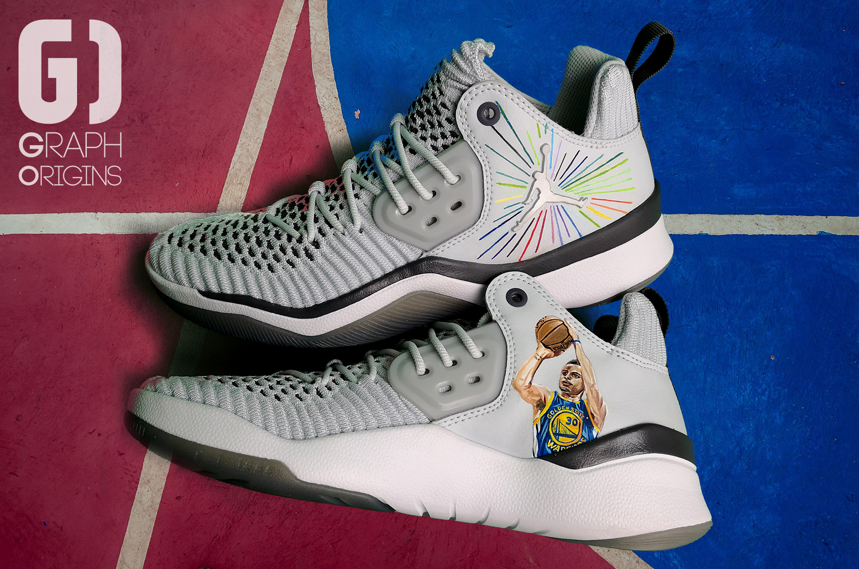 Custom Jordans Curry James 2