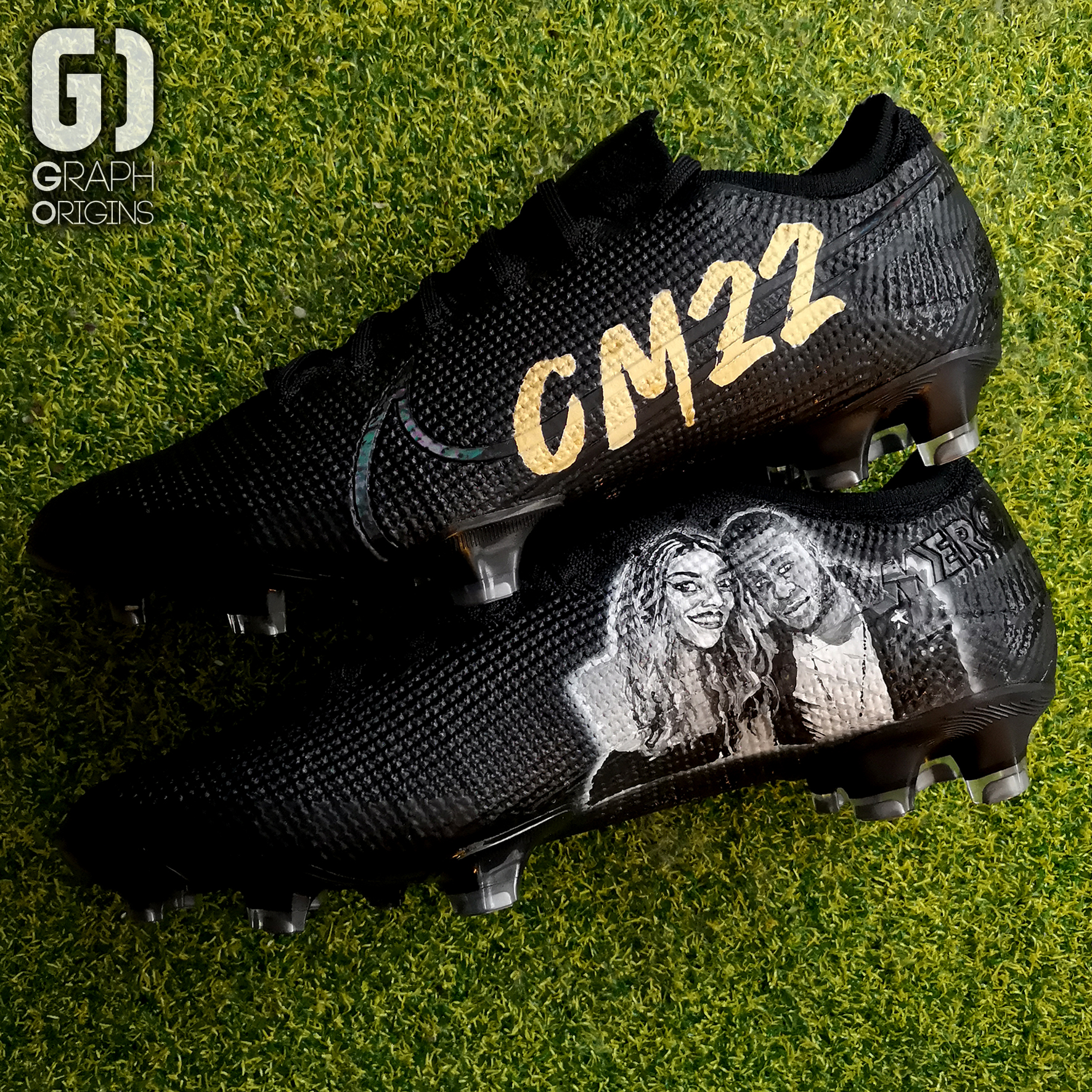 Chancel Mbemba Custom cleats Nike