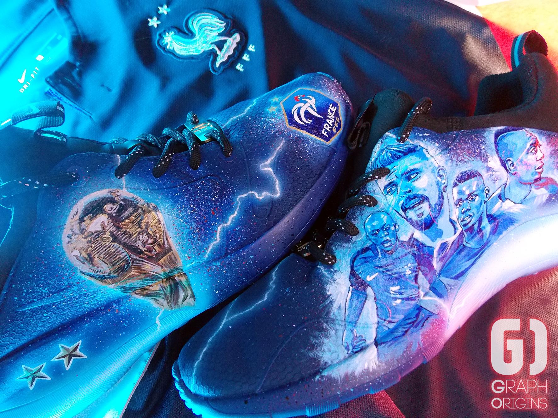 Custom Nike Kaishi FFF 3