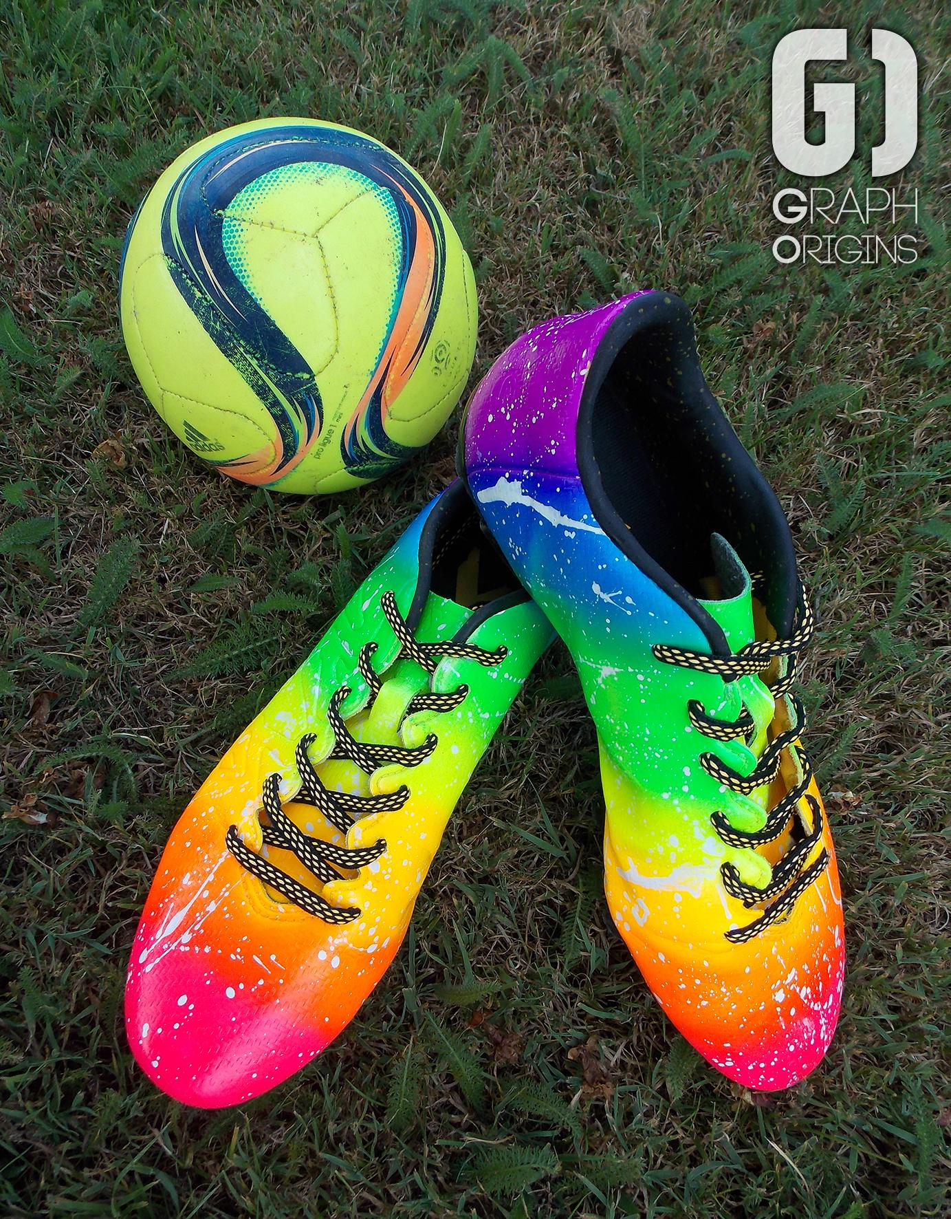 Crampons foot Adidas Rainbow 2
