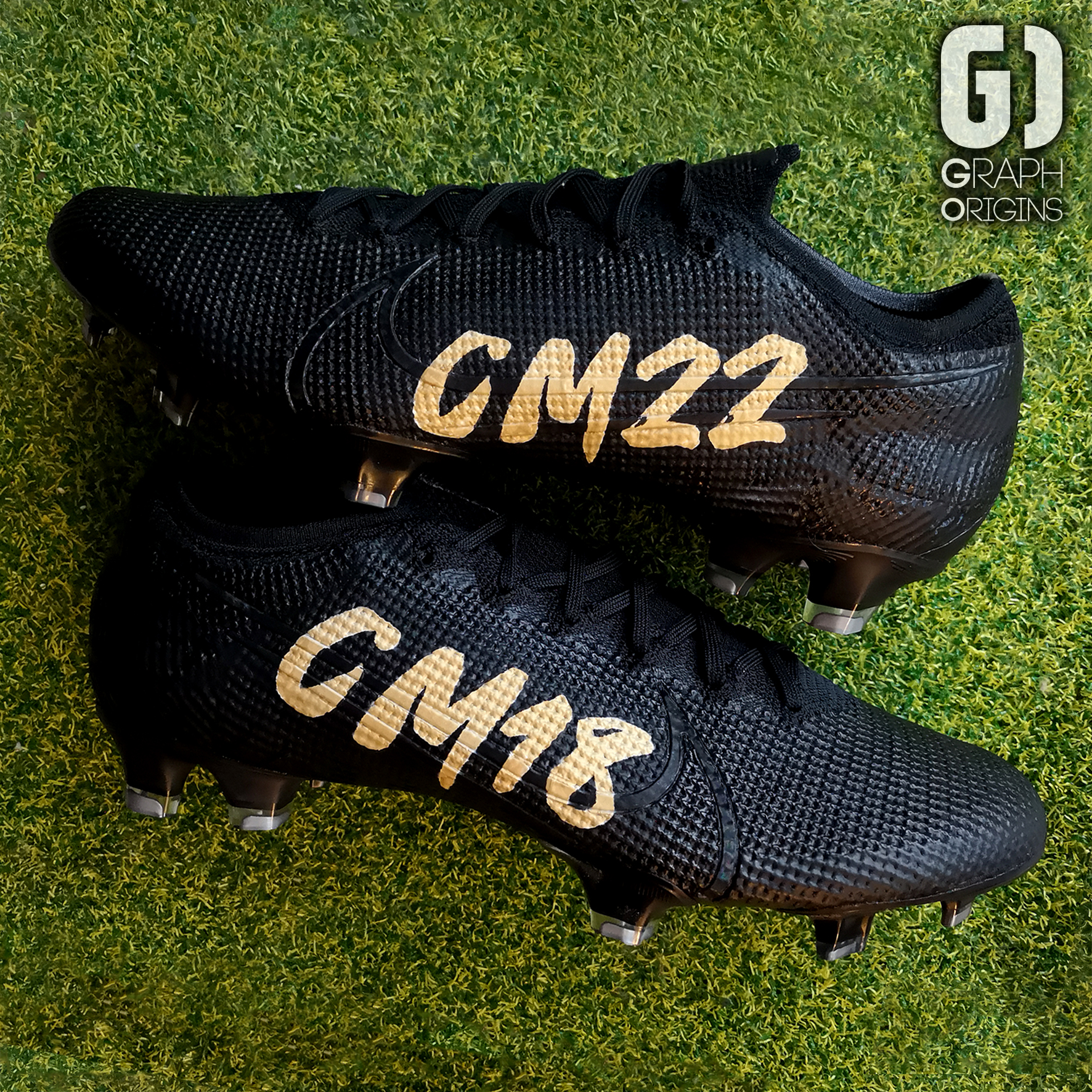 Chancel Mbemba Custom cleats Nike 2