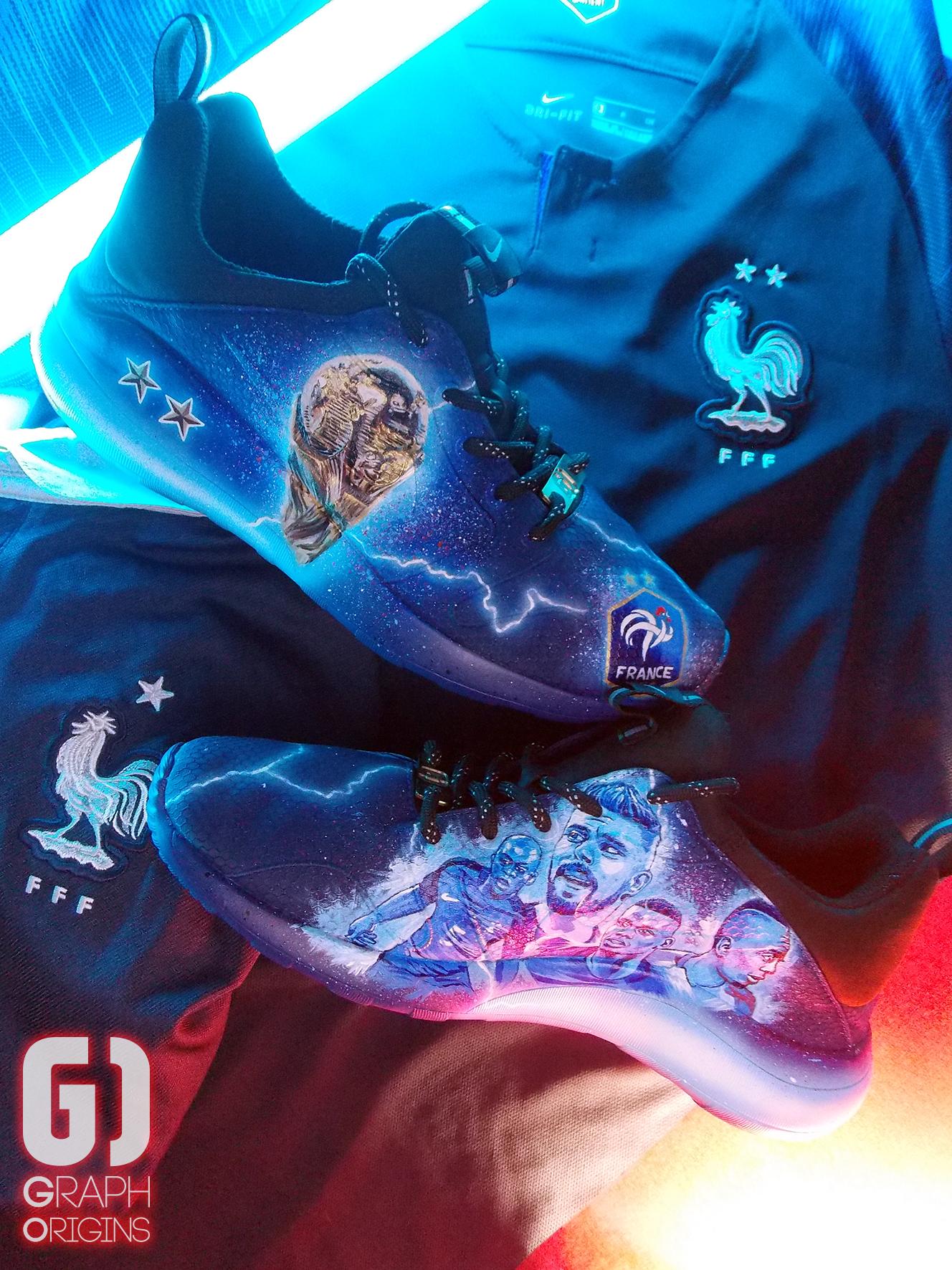 Custom Nike Kaishi FFF 5