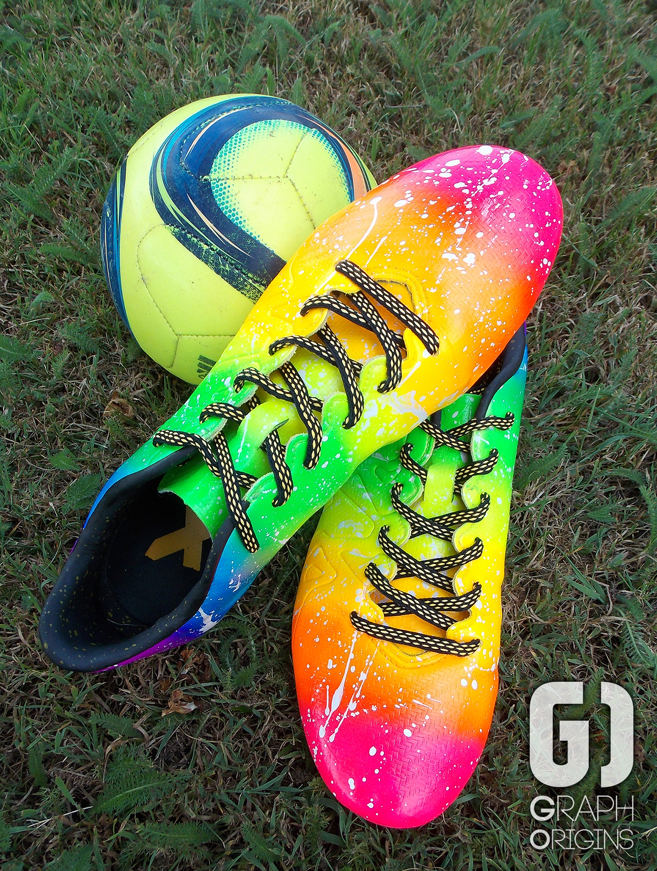 Crampons foot Adidas Rainbow 4