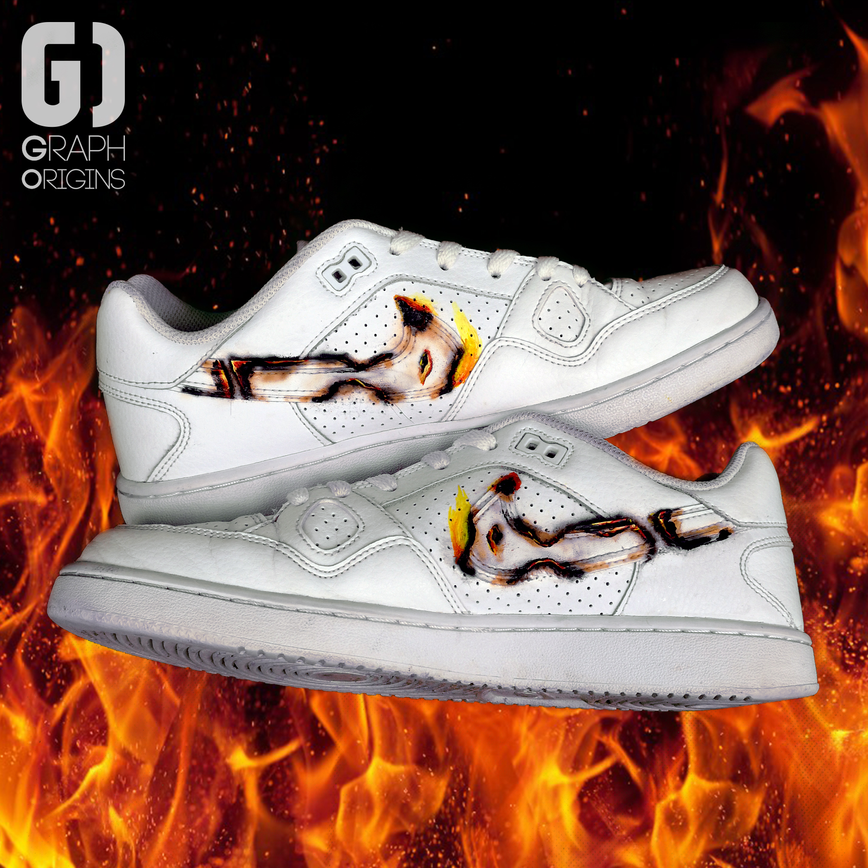 Burned custom Phoenix Nike 2